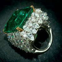 Gem Gallery Virtual Tour: This Emerald Was Worn by the Rulers of Baroda